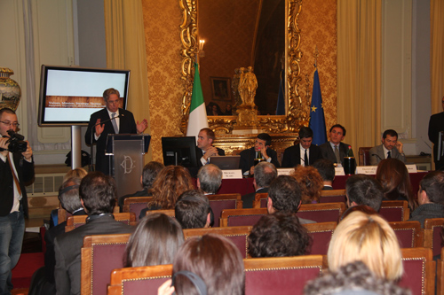 Amb David Thorne at Political Communication Conference in Rome